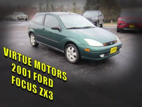 2001 Ford Focus for sale at Virtue Motors in Darlington WI