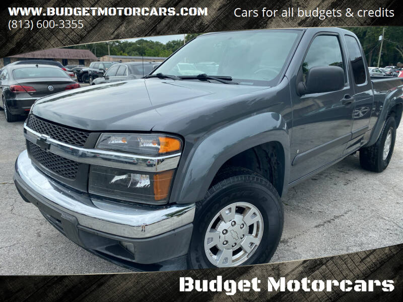 2008 Chevrolet Colorado for sale at Budget Motorcars in Tampa FL