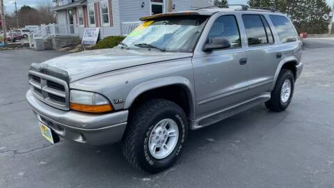 2000 Dodge Durango for sale at RBT Automotive LLC in Perry OH