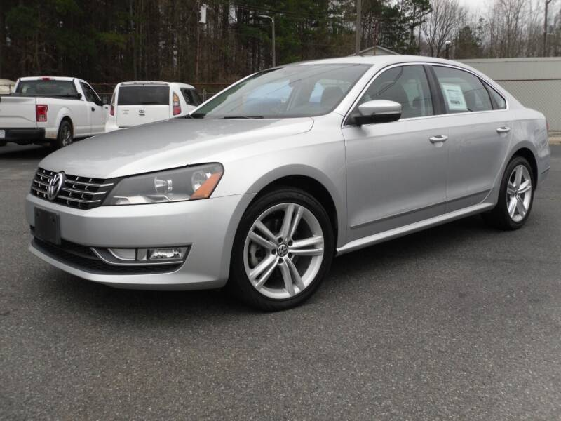 2013 Volkswagen Passat for sale at Brown's Used Auto in Belmont NC