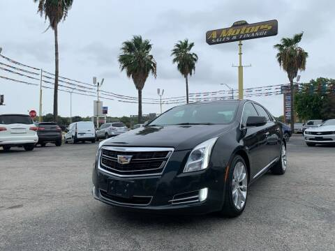 2016 Cadillac XTS for sale at A MOTORS SALES AND FINANCE in San Antonio TX