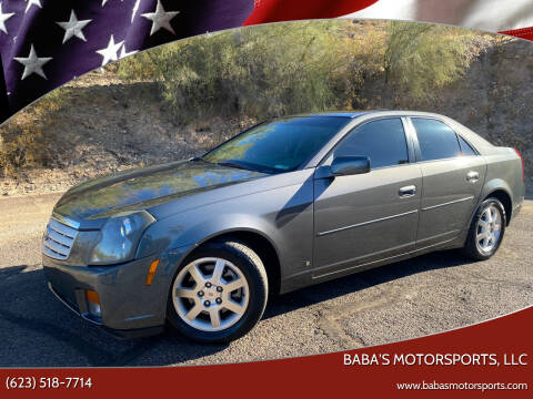 2007 Cadillac CTS for sale at Baba's Motorsports, LLC in Phoenix AZ
