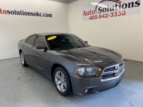 2014 Dodge Charger for sale at Auto Solutions in Warr Acres OK