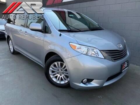 2014 Toyota Sienna for sale at Auto Republic Fullerton in Fullerton CA