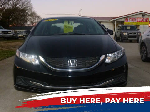 2013 Honda Civic for sale at Ed Steibel Imports in Shelby NC