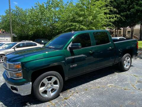 2014 Chevrolet Silverado 1500 for sale at Car Online in Roswell GA