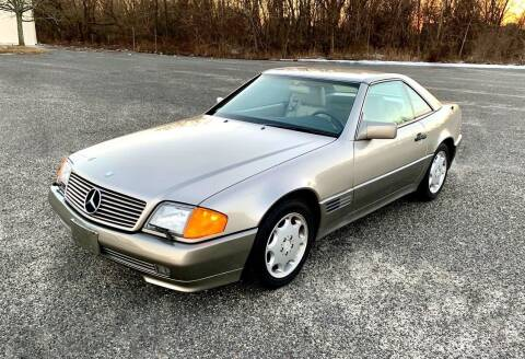 1994 Mercedes-Benz SL-Class for sale at Black Tie Classics in Stratford NJ