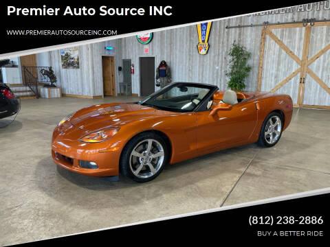 2008 Chevrolet Corvette for sale at Premier Auto Source INC in Terre Haute IN