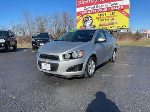 2012 Chevrolet Sonic for sale at US 30 Motors in Merrillville IN