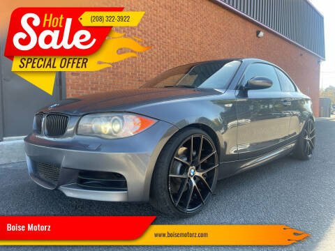2008 BMW 1 Series for sale at Boise Motorz in Boise ID