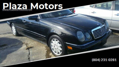 1999 Mercedes-Benz E-Class for sale at Plaza Motors in Richmond VA