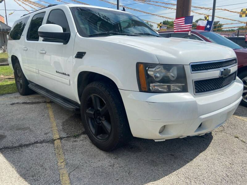 2011 Chevrolet Suburban for sale at Lion Auto Finance in Houston TX