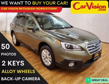 2017 Subaru Outback for sale at Car Vision Mitsubishi Norristown in Trooper PA