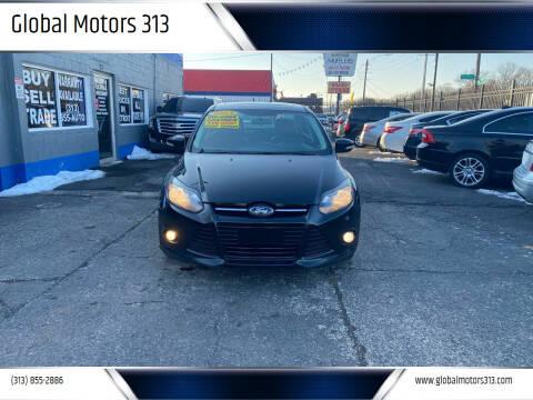 2013 Ford Focus for sale at Global Motors 313 in Detroit MI