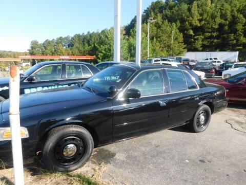 2007 Ford Crown Victoria for sale at Precinct One Auto Sales in Cartersville GA