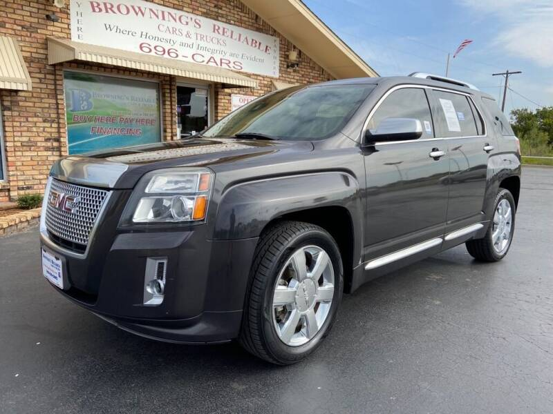 2014 GMC Terrain for sale at Browning's Reliable Cars & Trucks in Wichita Falls TX
