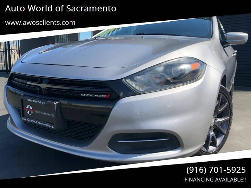 2016 Dodge Dart for sale at Auto World of Sacramento Stockton Blvd in Sacramento CA
