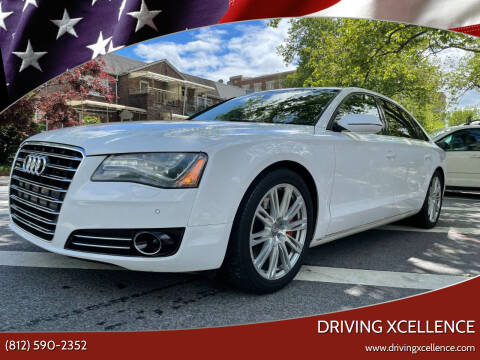2011 Audi A8 L for sale at Driving Xcellence in Jeffersonville IN