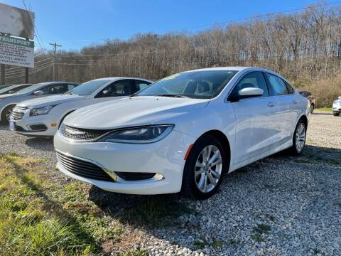 2016 Chrysler 200 for sale at Court House Cars, LLC in Chillicothe OH