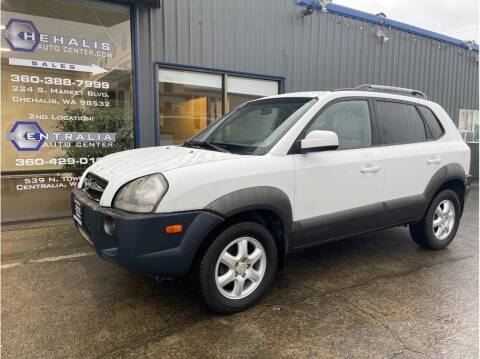 2005 Hyundai Tucson for sale at Chehalis Auto Center in Chehalis WA