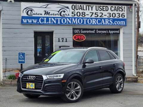 2016 Audi Q3 for sale at Clinton MotorCars in Shrewsbury MA
