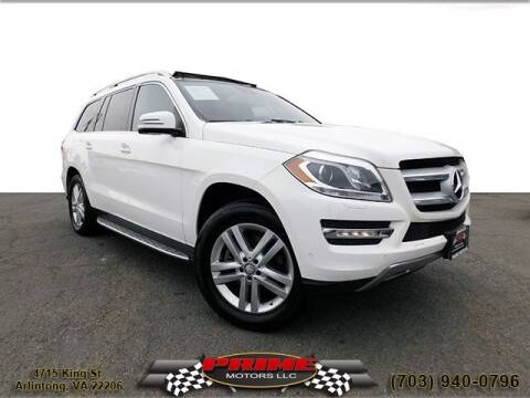 2015 Mercedes-Benz GL-Class for sale at PRIME MOTORS LLC in Arlington VA