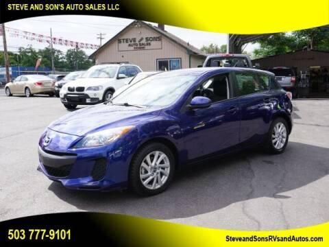 2013 Mazda MAZDA3 for sale at Steve & Sons Auto Sales in Happy Valley OR