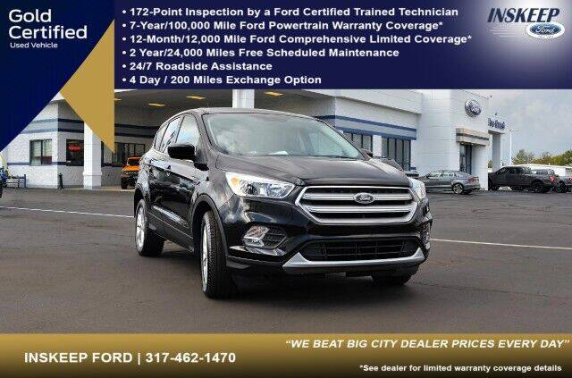 2019 Ford Escape for sale in Greenfield, IN