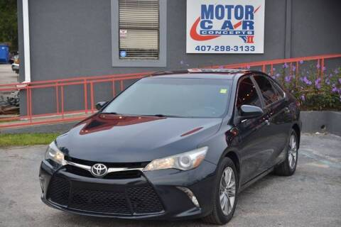 2015 Toyota Camry for sale at Motor Car Concepts II - Apopka Location in Apopka FL
