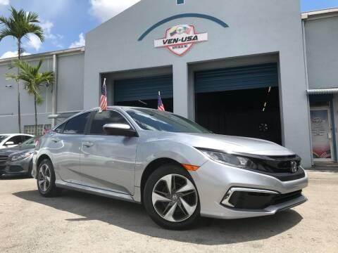 2019 Honda Civic for sale at Ven-Usa Autosales Inc in Miami FL
