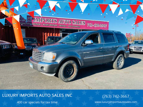2008 Chrysler Aspen for sale at LUXURY IMPORTS AUTO SALES INC in North Branch MN