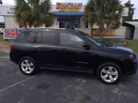 2016 Jeep Compass for sale at Sun Coast City Auto Sales in Mobile AL