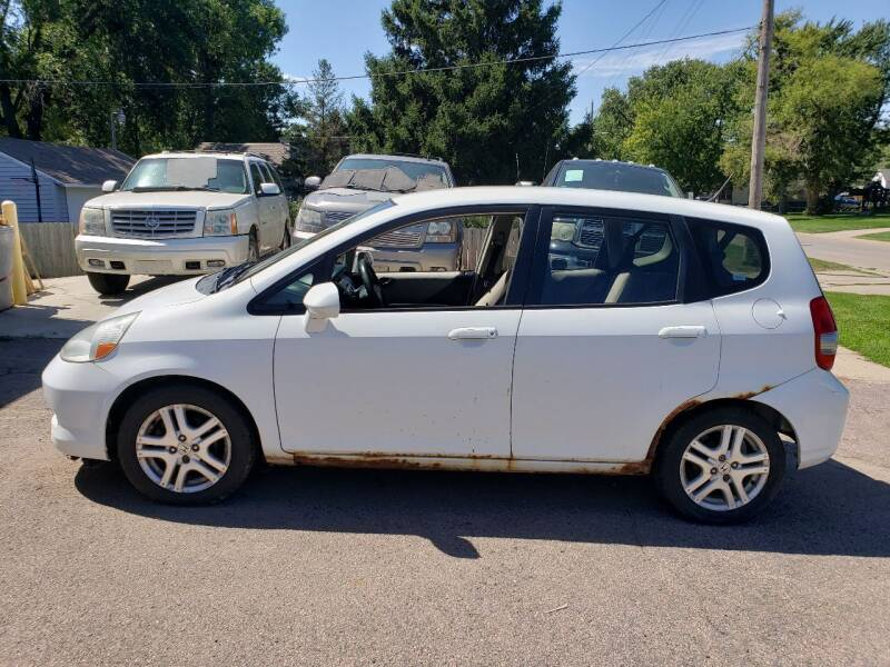 2007 Honda Fit for sale at RIVERSIDE AUTO SALES in Sioux City IA