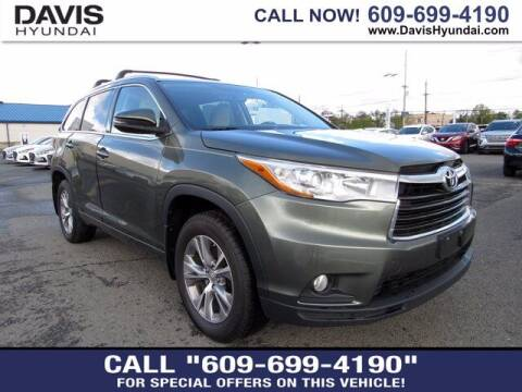 2015 Toyota Highlander for sale at Davis Hyundai in Ewing NJ