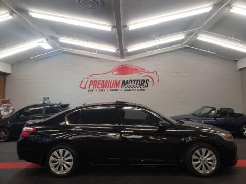 2013 Honda Accord for sale at Premium Motors in Villa Park IL