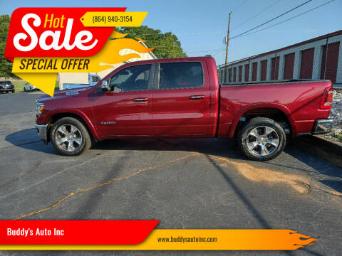 2019 RAM Ram Pickup 1500 for sale at Buddy's Auto Inc in Pendleton SC