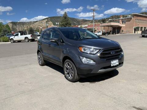 2019 Ford EcoSport for sale at Northwest Auto Sales & Service Inc. in Meeker CO