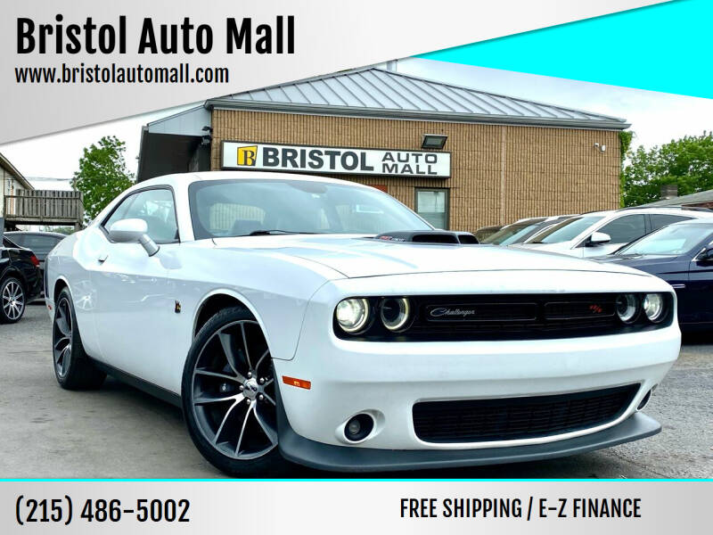 2016 Dodge Challenger for sale at Bristol Auto Mall in Levittown PA