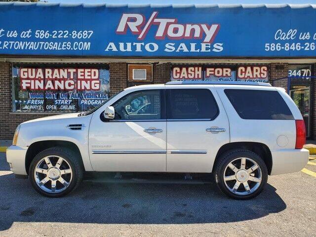2011 Cadillac Escalade for sale at R Tony Auto Sales in Clinton Township MI