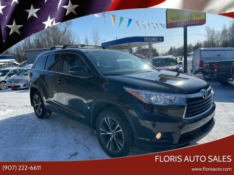2016 Toyota Highlander for sale at FLORIS AUTO SALES in Anchorage AK