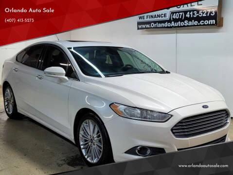 2014 Ford Fusion for sale at Orlando Auto Sale in Orlando FL