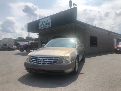 2006 Cadillac DTS for sale at B & J Auto Sales in Auburn KY