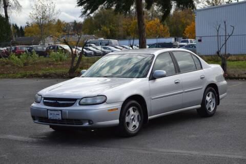 2002 Chevrolet Malibu for sale at Skyline Motors Auto Sales in Tacoma WA