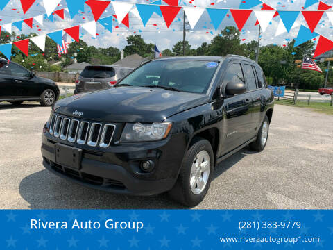 2014 Jeep Compass for sale at Rivera Auto Group in Spring TX