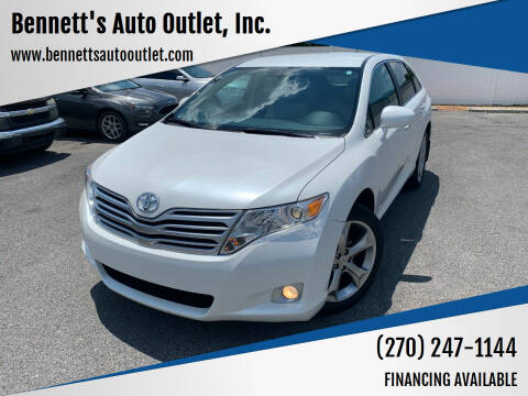 2011 Toyota Venza for sale at Bennett's Auto Outlet, Inc. in Mayfield KY