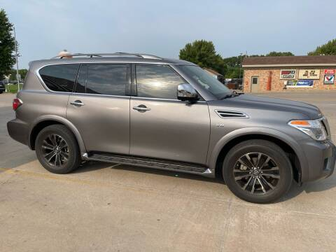 2018 Nissan Armada for sale at Mulder Auto Tire and Lube in Orange City IA
