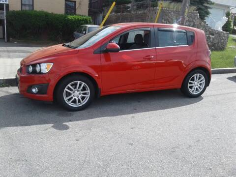 2013 Chevrolet Sonic for sale at Nelsons Auto Specialists in New Bedford MA