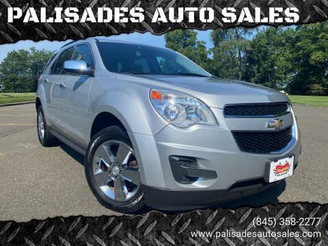 2015 Chevrolet Equinox for sale at PALISADES AUTO SALES in Nyack NY