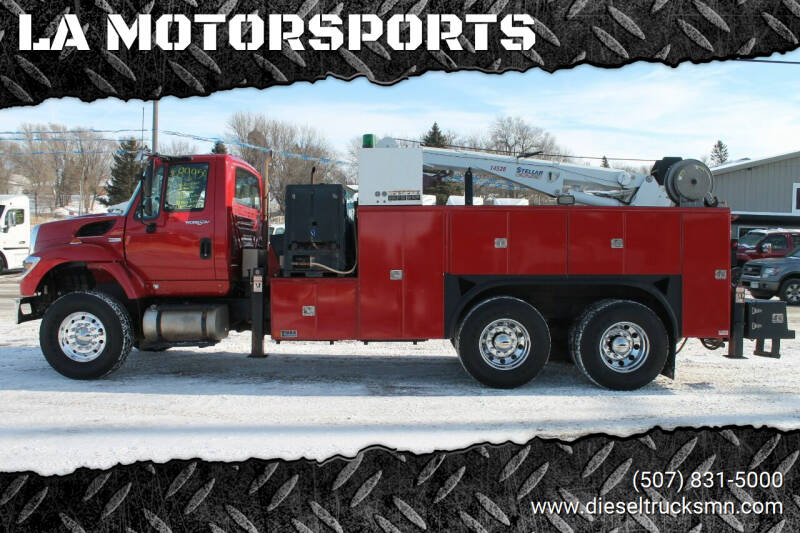 2012 International WorkStar 7400 for sale at LA MOTORSPORTS in Windom MN