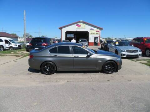2014 BMW 5 Series for sale at Jefferson St Motors in Waterloo IA
